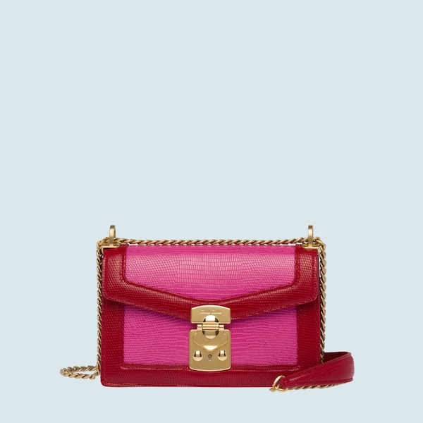 Miu Confidential printed leather bag 8f775579dea56