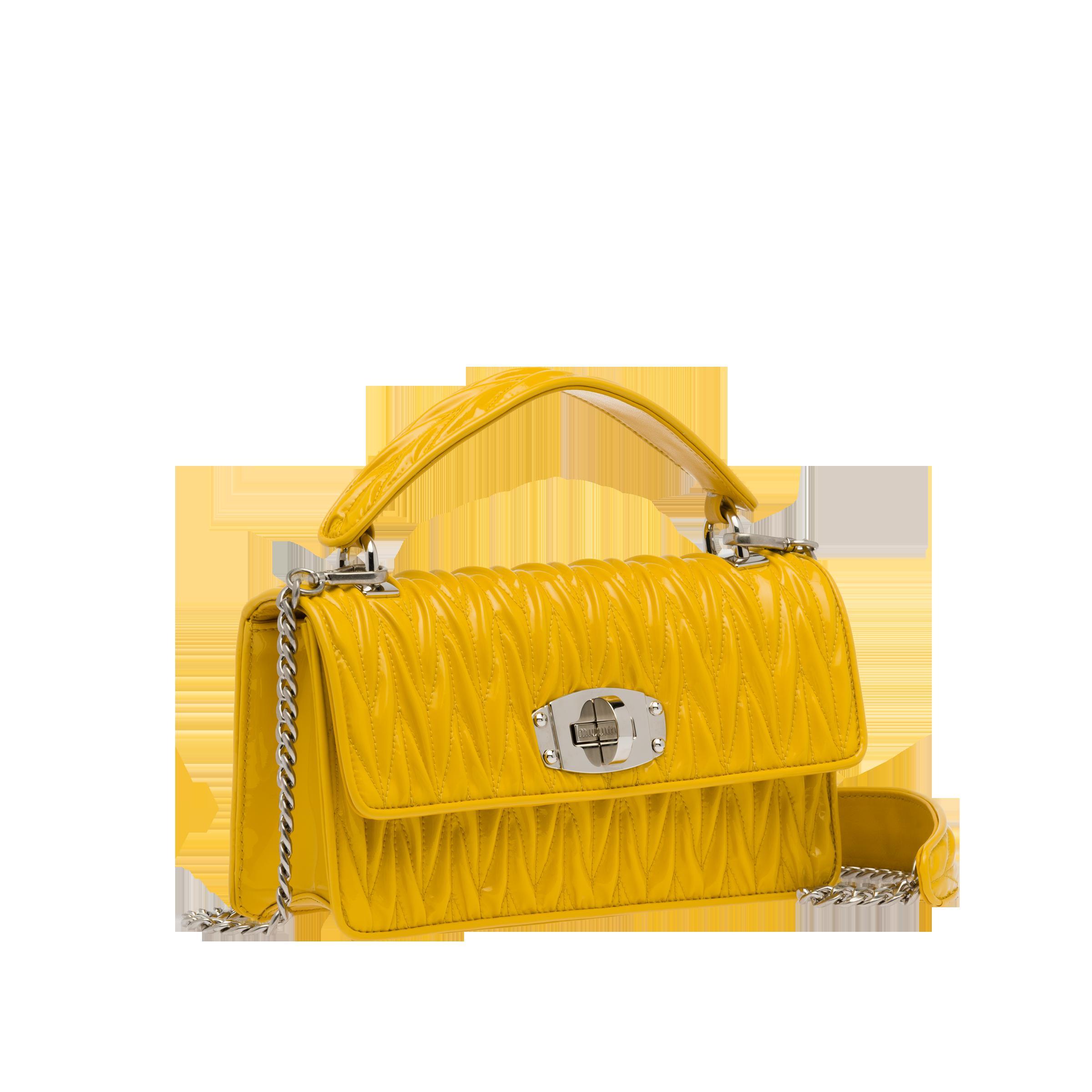 Miu Cleo patent leather shoulder bag  b0e2b0889213c