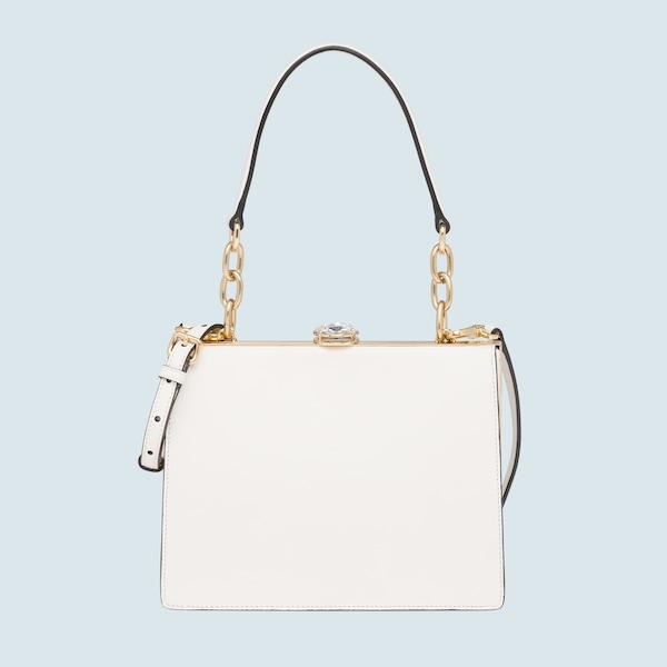 42d5dd01b285 Miu Solitaire leather bag