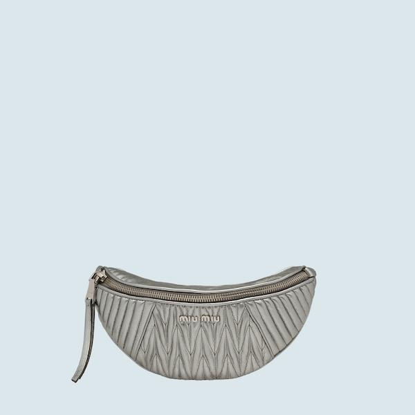 dac0bd6e061b Matelassé leather belt bag