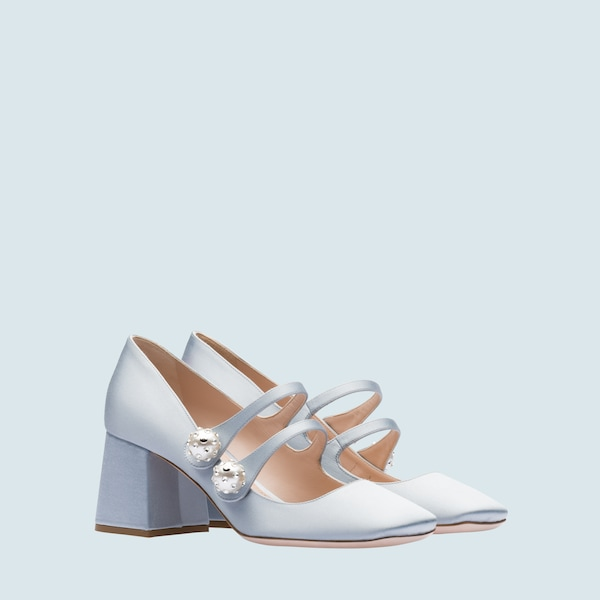 9fd56c5bc9a Satin Mary-Jane pumps