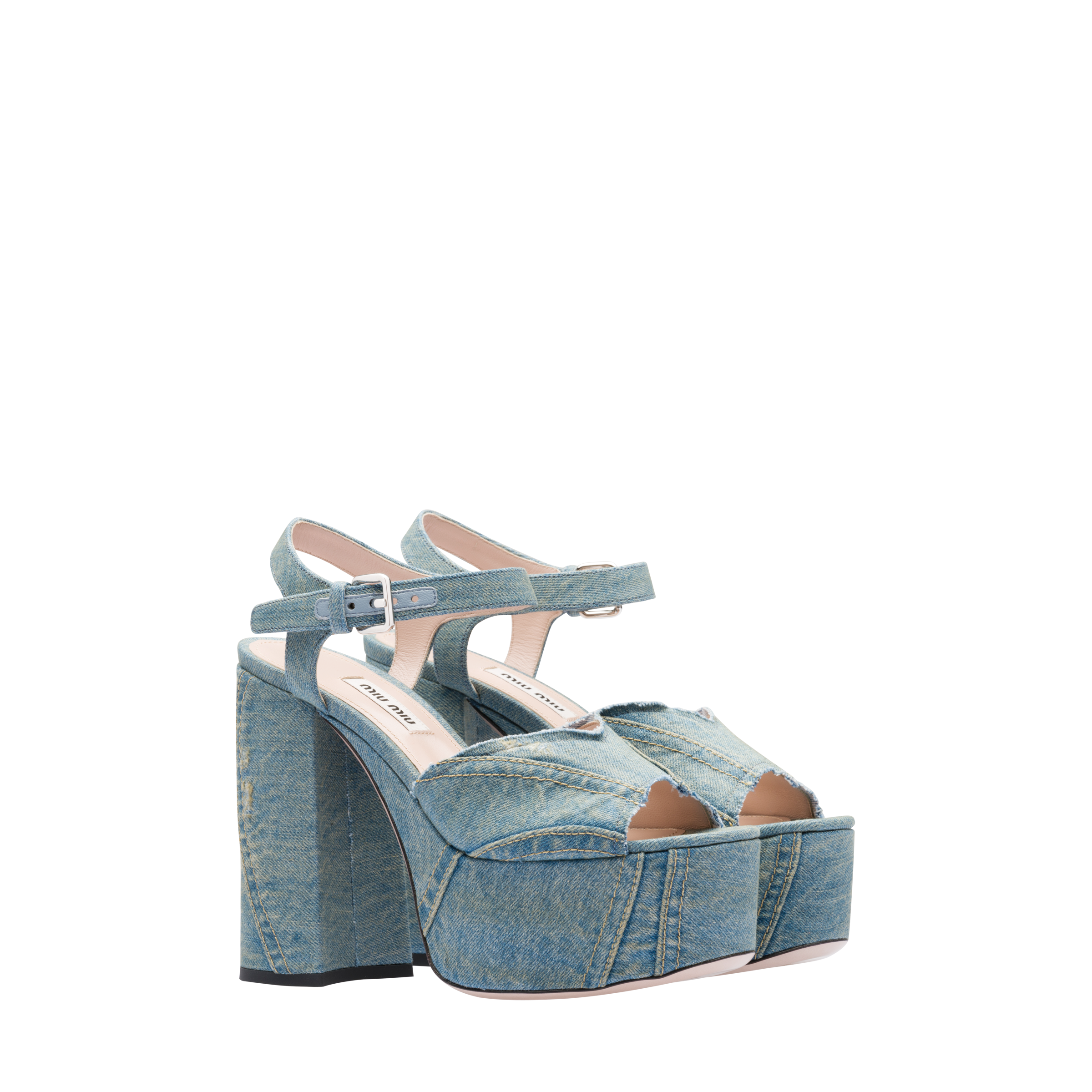 29673283b Find in store. Close. Your item. Denim platform sandals